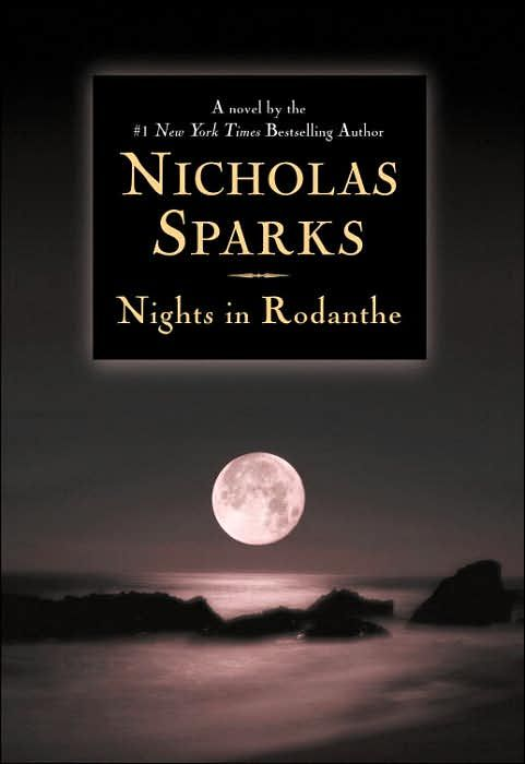 Nights in Rodanthe. Another Nicholas sparks novel worth reading.. :-)
