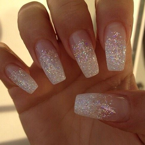 Instagram - Best 25+ Sparkly Acrylic Nails Ideas On Pinterest Sparkly Nail