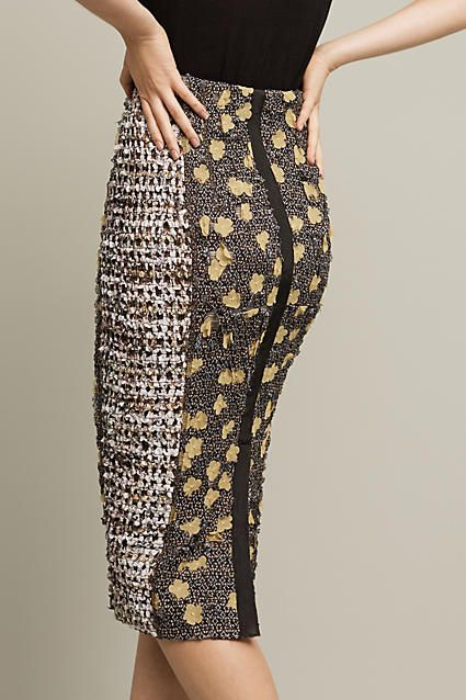 Poppies Pencil Skirt - anthropologie.com                                                                                                                                                                                 More