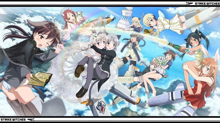 Picture for Desktop: strike witches
