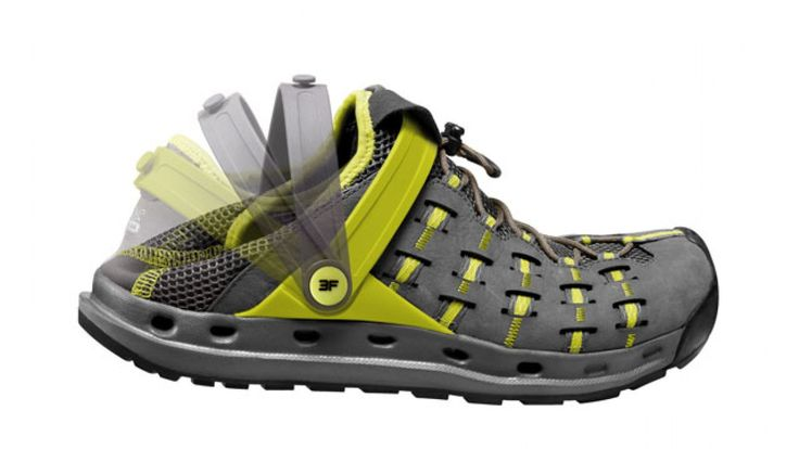 I'm looking for a badass camp shoe that is also comfortable and up for a good rock scramble.
