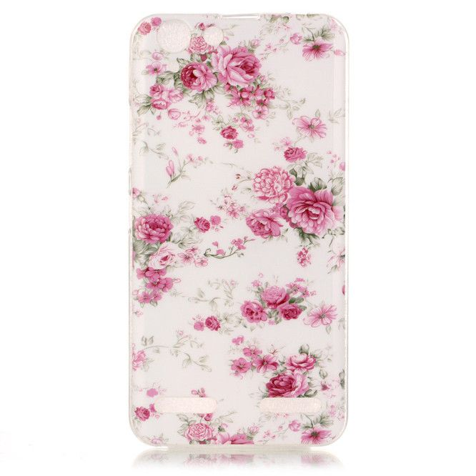 Luxury Soft TPU Cute Painted Cell Phone Cover Case For Lenovo Vibe K5 Case Silicone Back Cover For Lenovo Vibe K 5