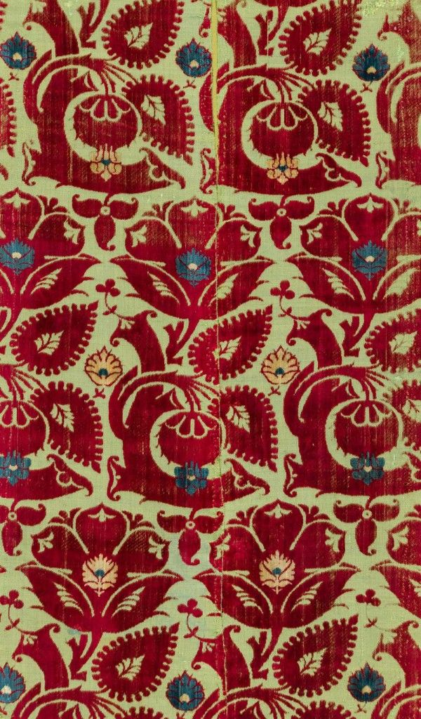 the Abegg-Stiftung textile collection in Riggisberg, Switzerland, places Italian silk-weaving under its forensic gaze in its seasonal special exhibition 'Triumph of Ornament', open until 8 November 2015. In particular, it looks at the high point of this art, the 15th century, when cities like Lucca, Venice and Florence were the heart of luxury textile production and trade. Their velvets were the envy of the world and furnished the homes, and dressed the bodies, of the European elite.