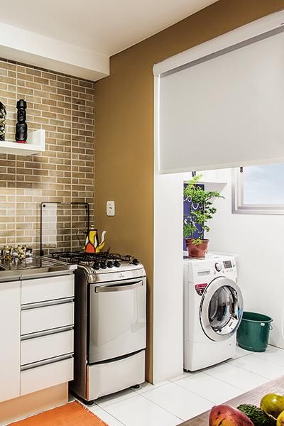 MinhaCASA - Confira 12 soluções para separar a cozinha da lavanderia