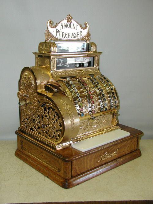 antique national cash register serial numbers