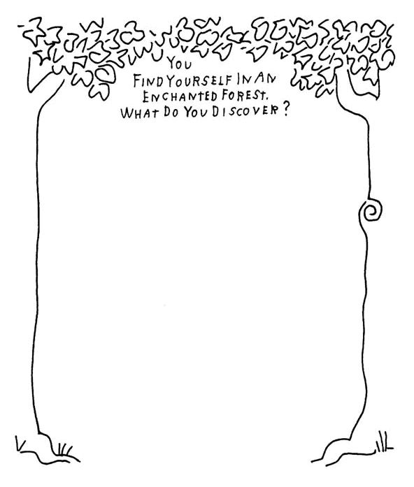 Love the stuff here.  Some great imagination prompts. FREE Printables from MakeBeliefsComix.com!