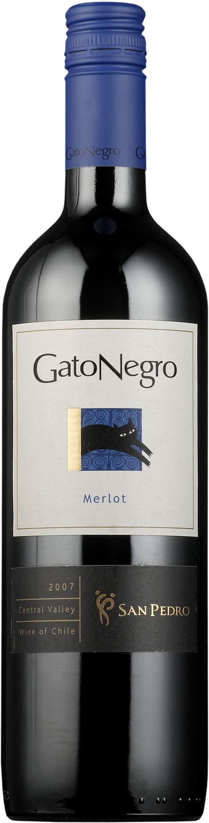 Gato Negro 2011 Merlot (Valle Central, Chile)