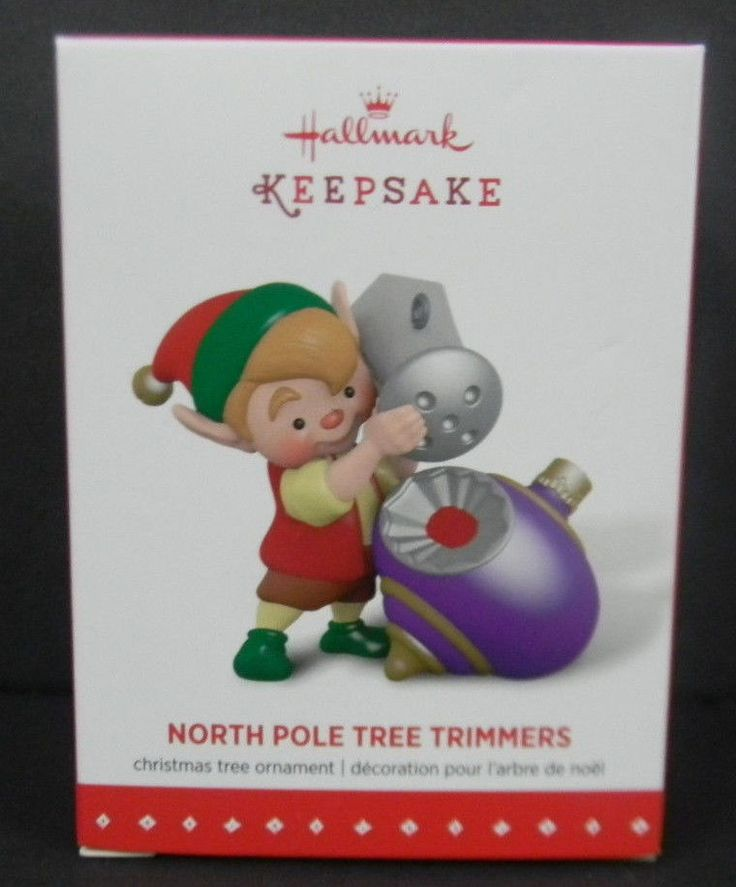 Hallmark Ornament 2015 North Pole Tree Trimmers #3 Christmas Holiday NEW NIB