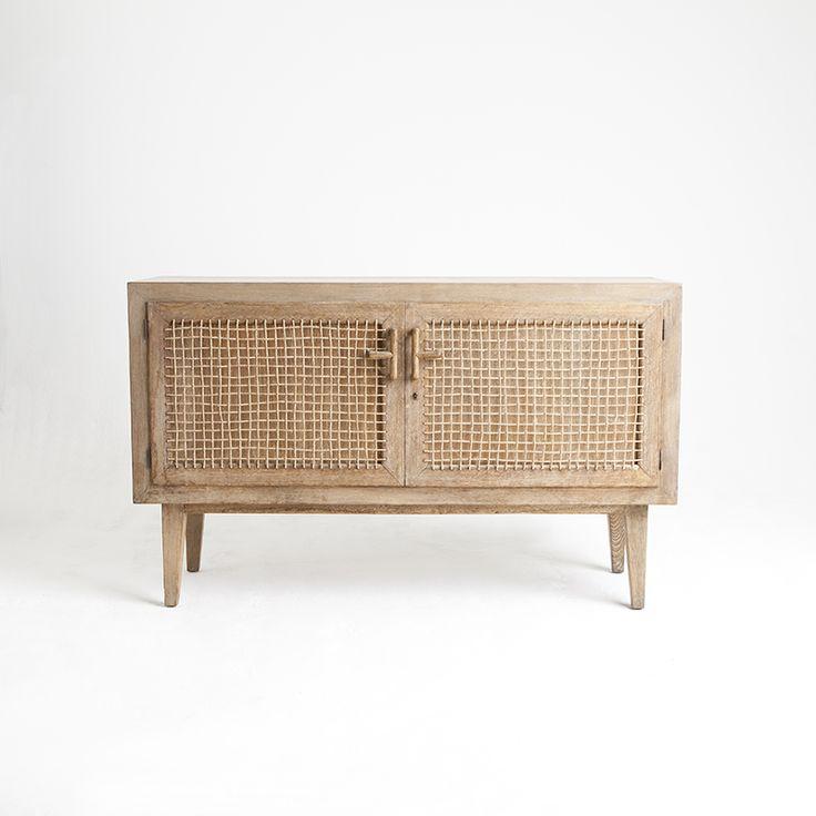 1940s French oak sideboard