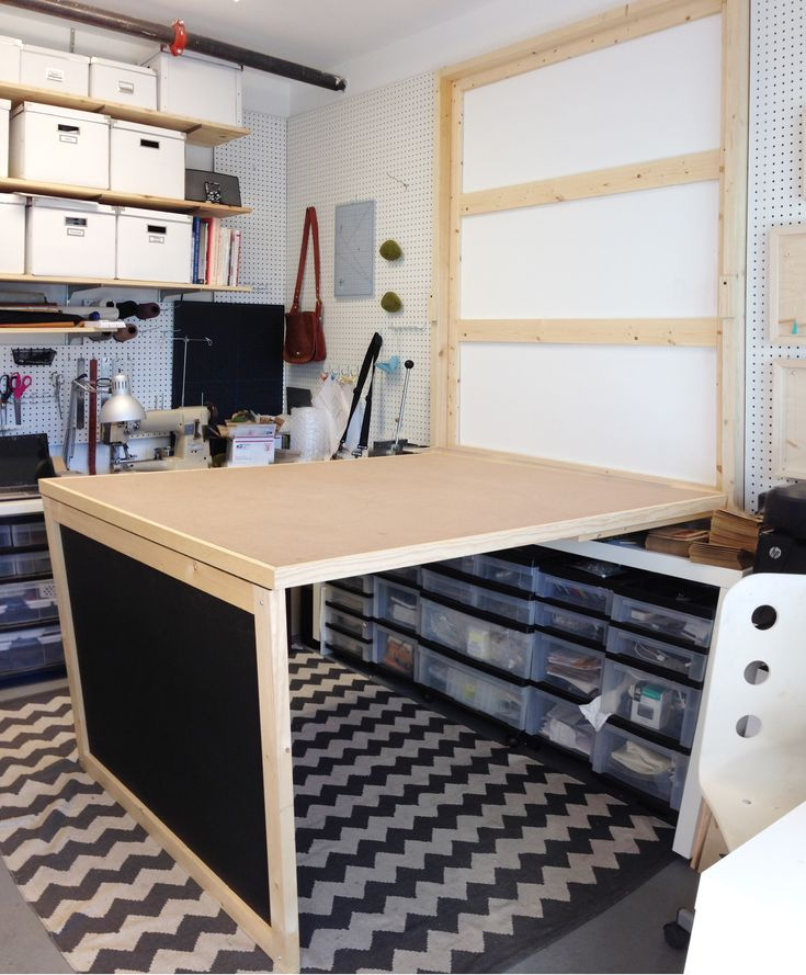 Murphy Craft Table Plans - WoodWorking Projects & Plans
