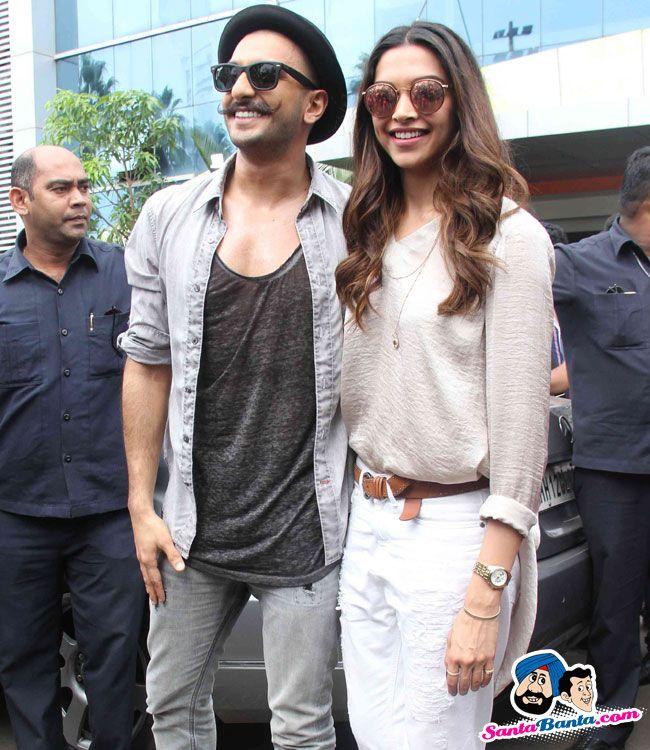 Gajanana Song Launch From Baijarao Mastani -- Ranveer Singh and Deepika Padukone Picture # 317515