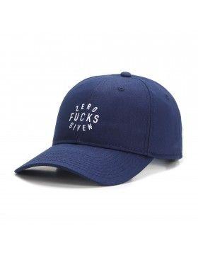 Cayler & Sons Zero - Curved dad cap - navy