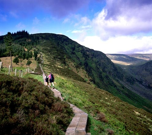 It may just be mainstream but I so love Wicklow Mountains