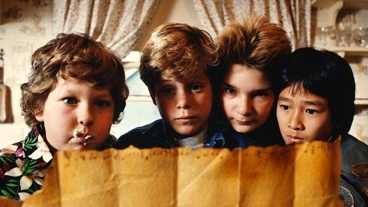 Los Goonies, 1985. Después de 30 años, la hemos vuelto a disfrutar en pantalla grande. Diversión a tope. #cine #los80