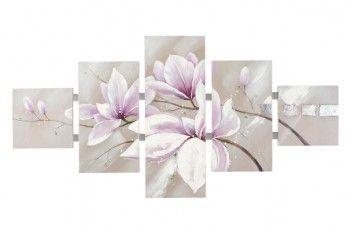 schilderij Bloemen 162x80
