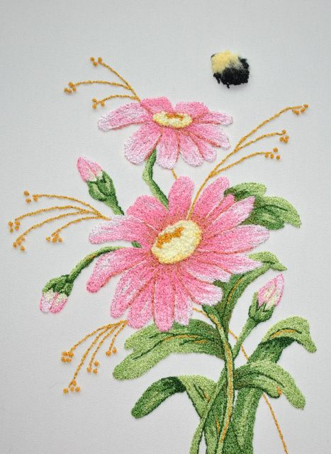 Best bunka embroidery images on pinterest punch