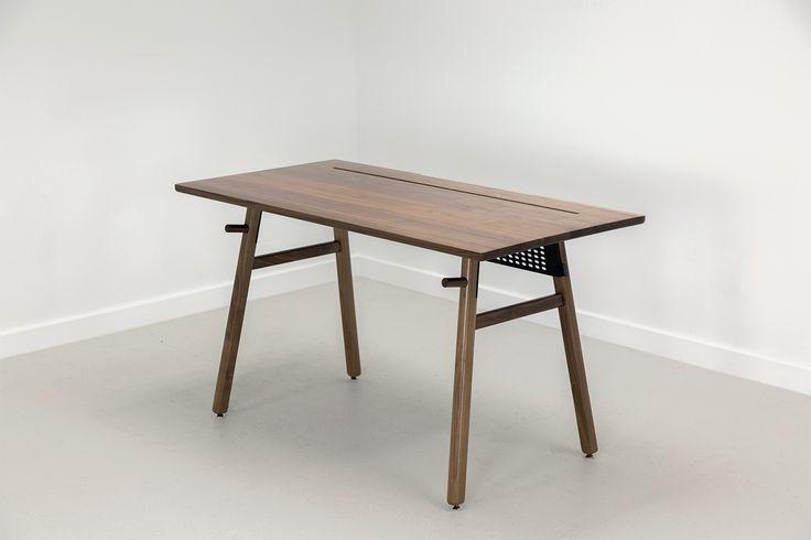 WALNUT /WALNUT + BONEThis beautiful minimalist desk is everything you need it to be. ...