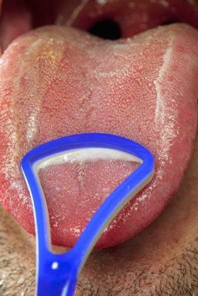 how to clean your mouth after oral