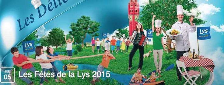 La 18ème édition des Fêtes de la Lys se déroulera le dimanche 5 juillet 2015 dans 11 communes de la Vallée de la Lys : Fiefs (nouveauté 2015), Aire-sur-la-Lys, Saint-Venant, Haverskerque, Merville, La Gorgue, Estaires, Sailly-sur-la-Lys, Erquinghem-Lys,...