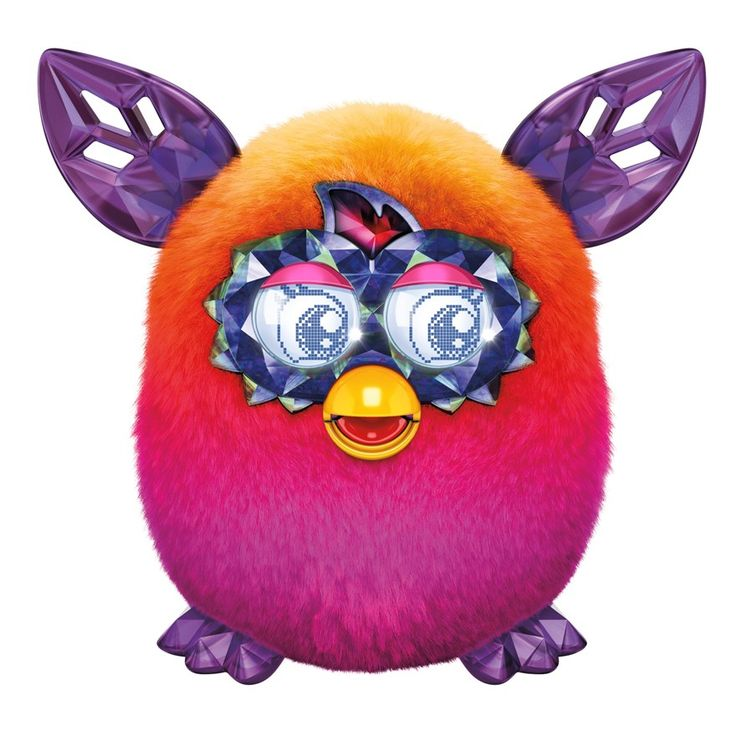 Furby Boom Crystal Series Furby Orange to Pink Wave 4 image-0 - want this for my granddaughter for christmas
