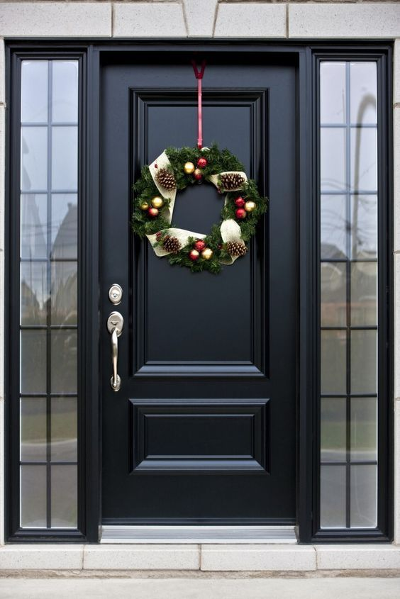 Best 25 black exterior doors ideas on pinterest entry for Black wooden front door