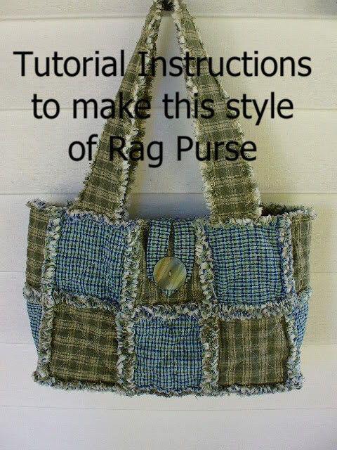 Ashlawnfarms Rag Quilt Purse Pattern Instructions PDF download by Ashlawnfarms on Etsy https://www.etsy.com/listing/21241888/ashlawnfarms-rag-quilt-purse-pattern