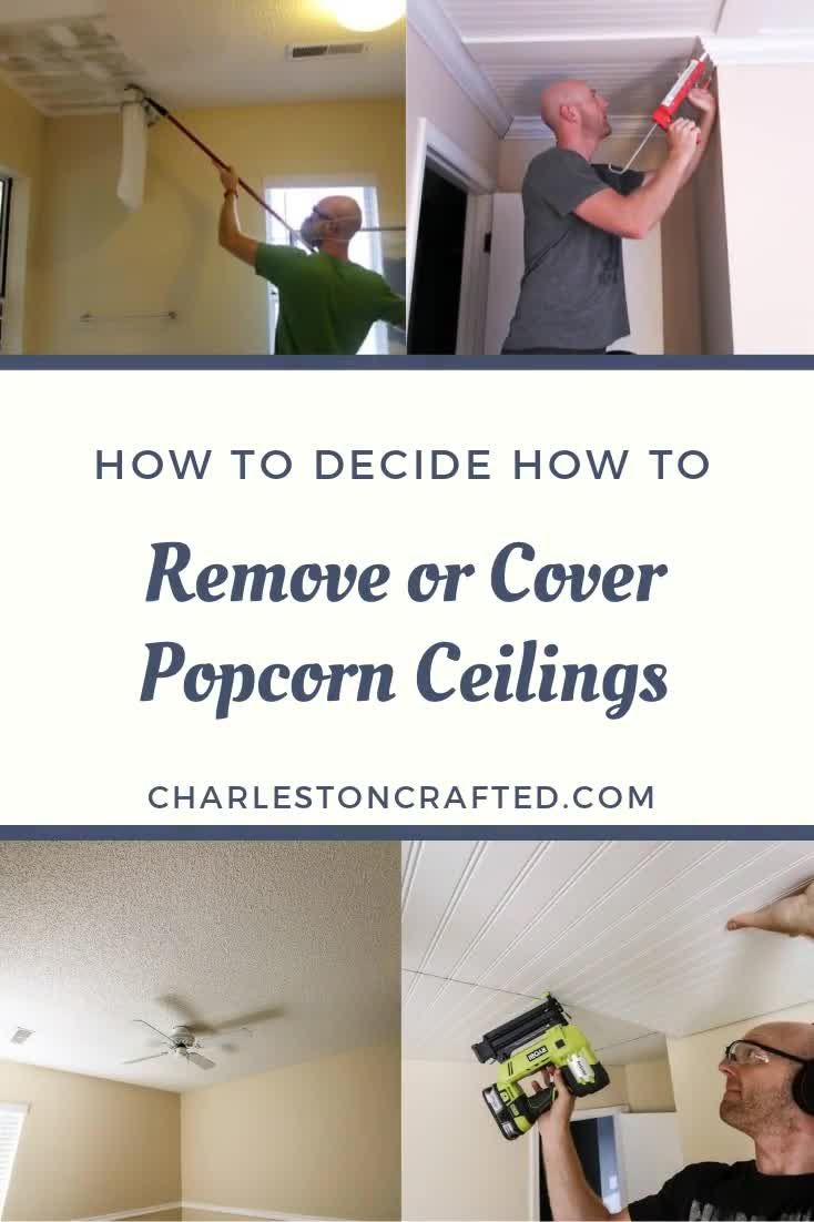 Our Top Tips On How To Scrape Popcorn Ceilings Video Video Removing Popcorn Ceiling Popcorn Ceiling Covering Popcorn Ceiling