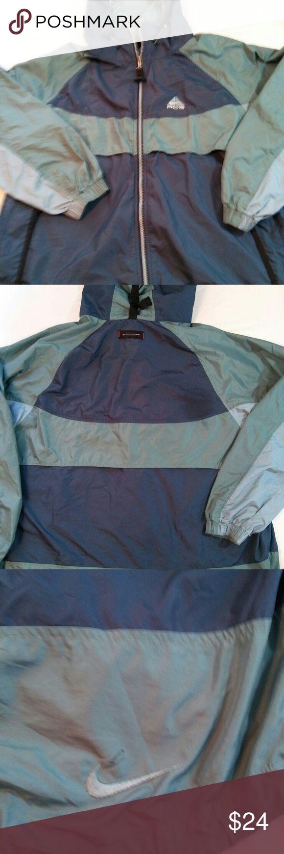 Nike ACG jacket, XL Nike jacket, with hood, full zipper, all conditions gear Nike ACG Jackets & Coats Lightweight & Shirt Jackets