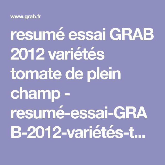 resumé essai GRAB  2012 variétés tomate  de plein champ - resumé-essai-GRAB-2012-variétés-tomate-de-plein-champ.pdf