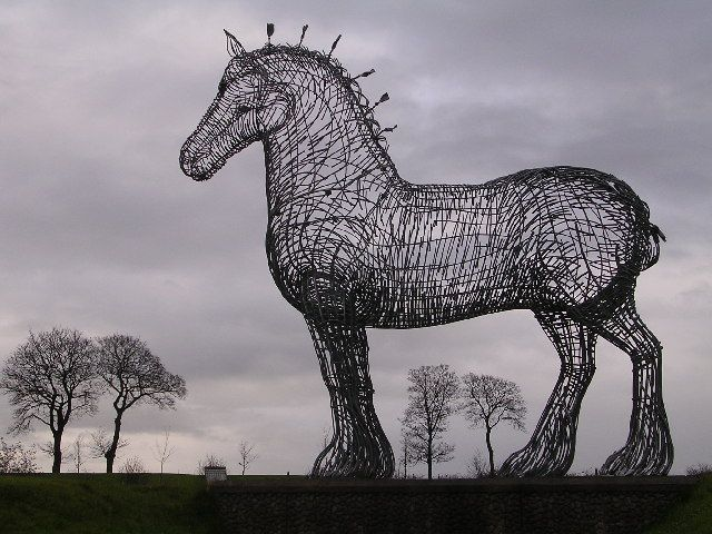 Heavy Horse by Chris Upson
