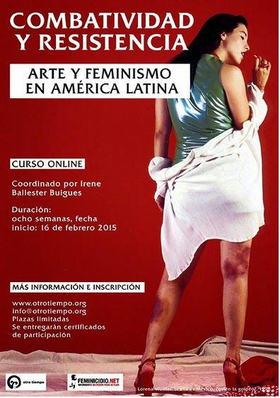 Dr. Paterpfizer: Curso Arte y Feminismos en América Latina por Irene Ballesteres Buiges.