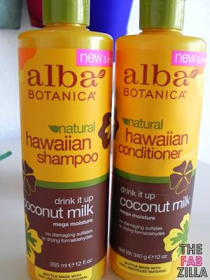 alba hawaiian shampoo & conditioner smells like coconuts and makes hair so soft!