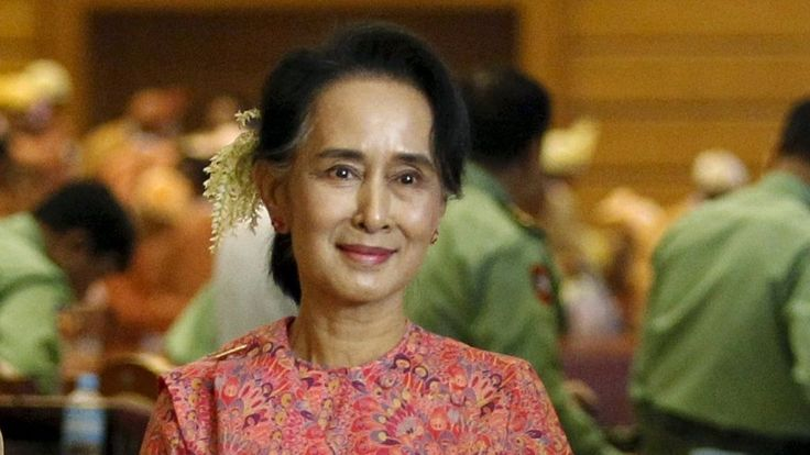 Myanmar's National League for Democracy (NLD) has named its candidates to be president, confirming that its leader Aung San Suu Kyi is not a contender.
