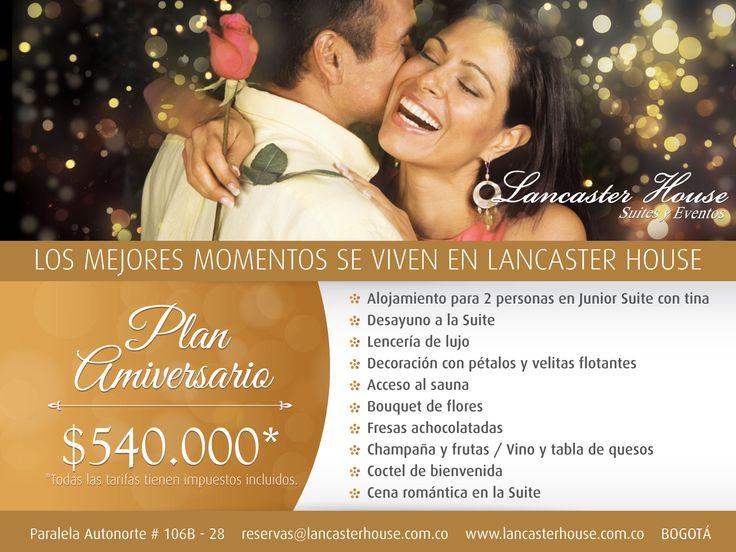 Special Annivesary Plans / Plan Aniversario  #Celebrations #Anniversaries #aniversarios #hotel #Bogota