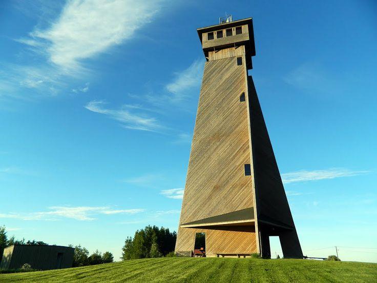 The observation tower,  Lehtimäki, Finland.
