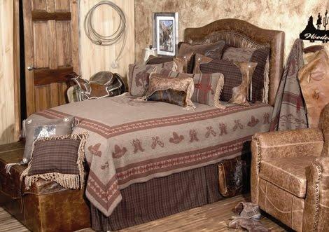 Cowboy Bedroom Cowboy Chic Decor Pinterest