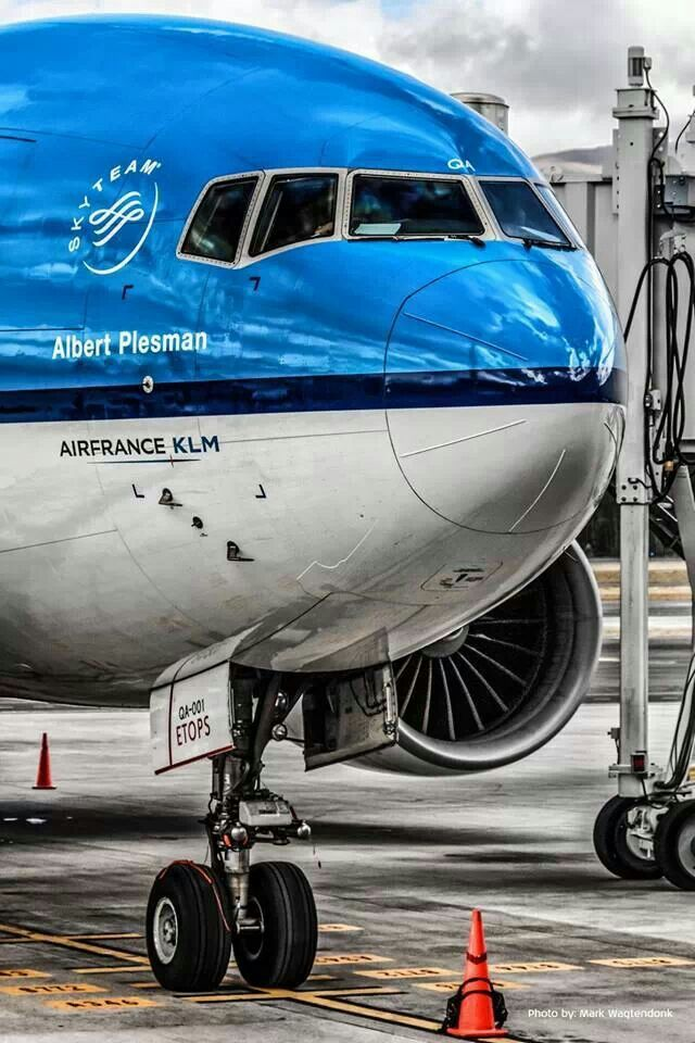 "KLM Boeing 777-206ER PH-BQA ""Albert Plesman"" - The first Boeing 777 in the airline's fleet."