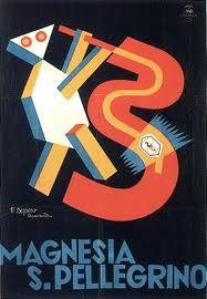 Manifesto Magnesia San Pellegrino, 1930