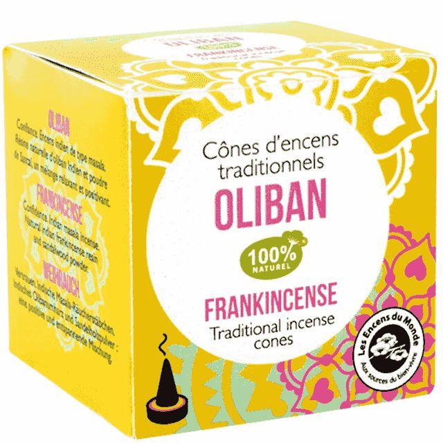 Oliban - Vertrauen Räucherkegel Indien - Indische Räucherkegel - Cleopatra's Duft-Oase