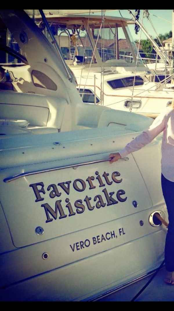 Yachting's editors have encountered some awesome boat names in their travels, take a look!