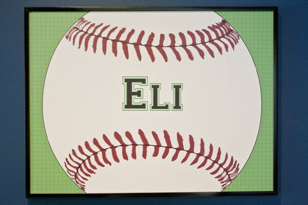 Your little baseball player will love a colorful Cool Corks bulletin board to hang their ribbons, awards, art, pictures and much more!  #baseballfan www.coolcorkboards.com