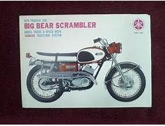 1967 Yamaha 250 Big Bear Scrambler motorcycle sales ...