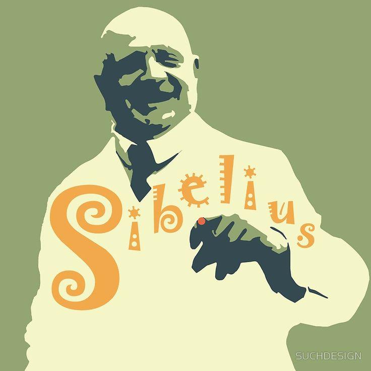 Jean Sibelius by SUCHDESIGN