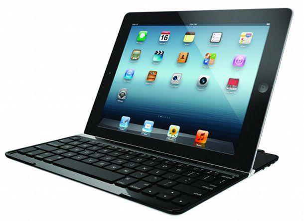 Bildschirm-Schutz und Tastatur für das neue iPad in einem - von Logitech