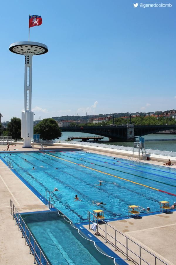 434 best images about lyon france europe on pinterest for Piscine rhone lyon