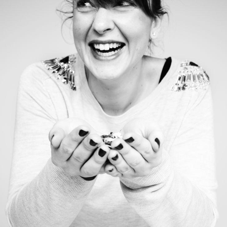 www.behance.net/alericcioli @Elena Mariani  #girl #hand #nailpolish #smile #happy #confetti #alericcioli