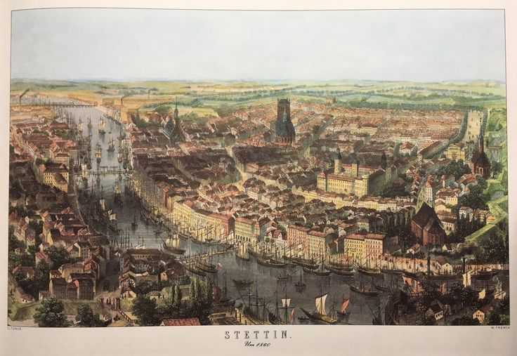 Stettin, Germany(former).  Around 1860
