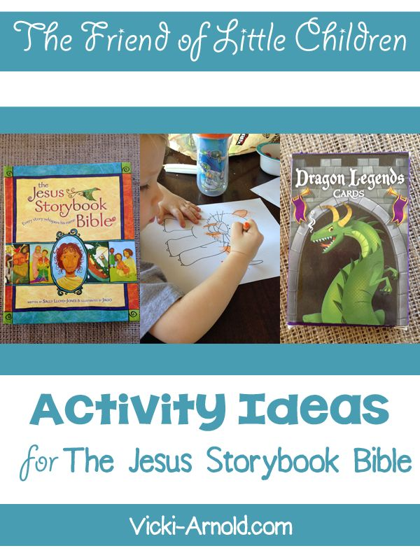 Activity Ideas for The Friend of Little Children - Jesus Storybook Bible