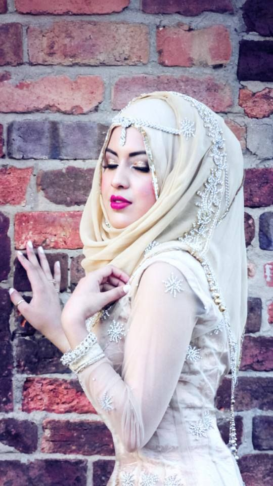 .Beautiful Hijab Perfect Muslim Wedding