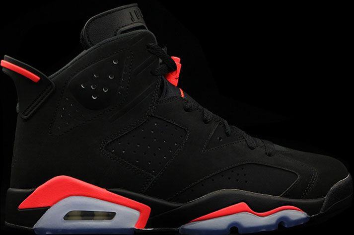 Authentic 384664-023 Air Jordan 6 Retro Black/Infrared 23-Black Men's Shoe http://www.noveljordan.com